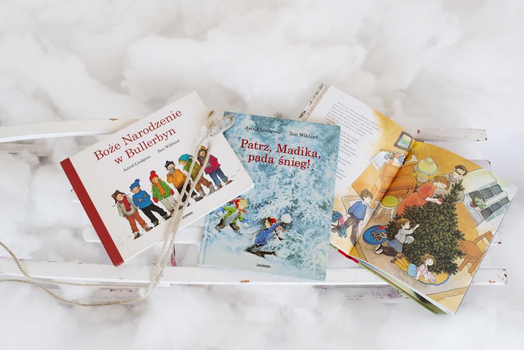 blog o książkach dla dzieci, zimowa Astrid Lindgren