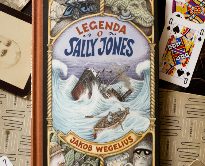 """Legenda o Sally Jones"" Jakob Wegelius"