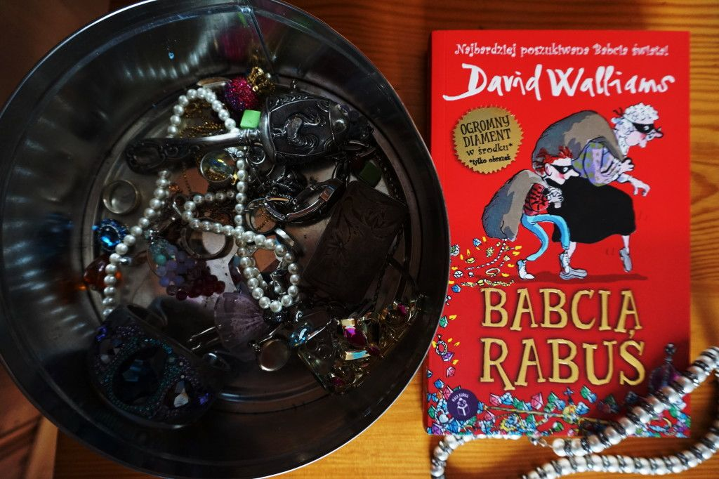 Babcia Rabuś David Walliams
