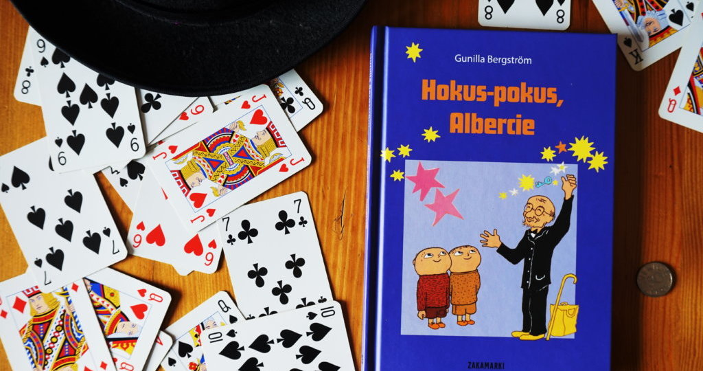 """Hokus-pokus, Albercie"" Gunilla Bergstrom"