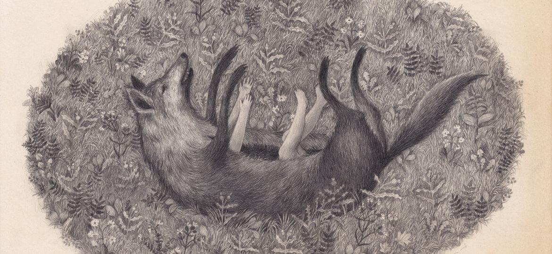 """""""Czerwony Kapturek"""" ilustracja dla dzieci Joanny Concejo"""