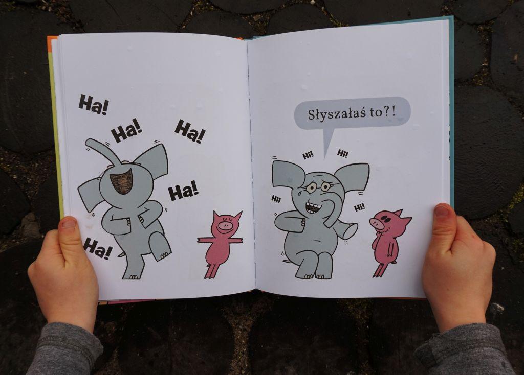 świnka Malinka i słoń Leon - pierwsze komiksy dziecka