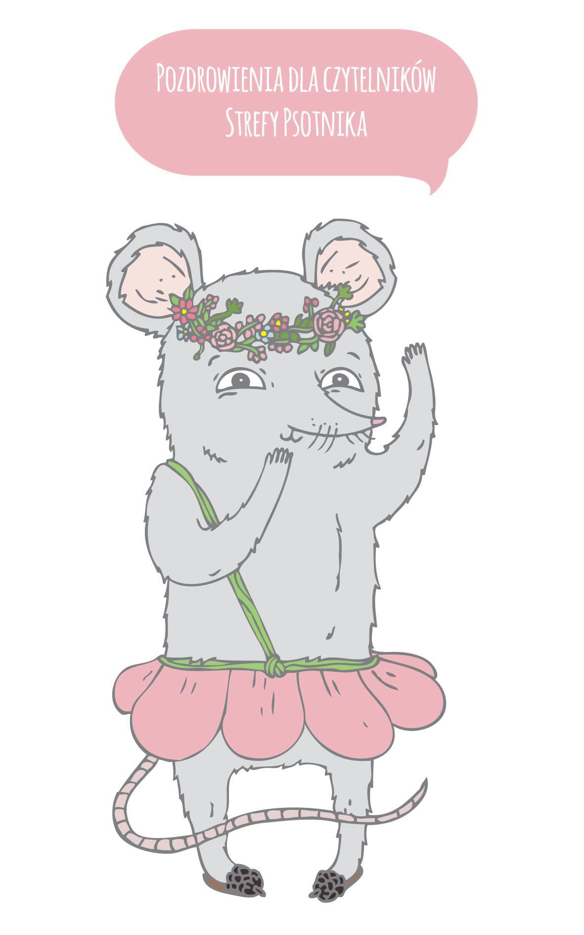 """""""Myszka"""" ilustracja Dobrusi Rurańskiej"""