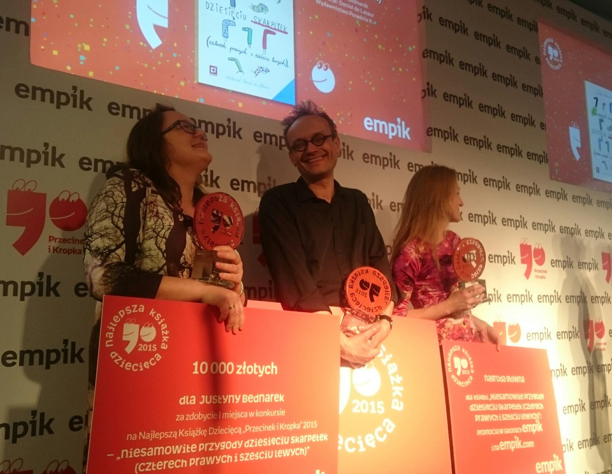 Przecinek i Kropka - wyniki konkursu Empiku