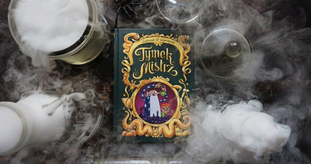 Tymek i Mistrz tom 1, blog o książkach dla dzieci