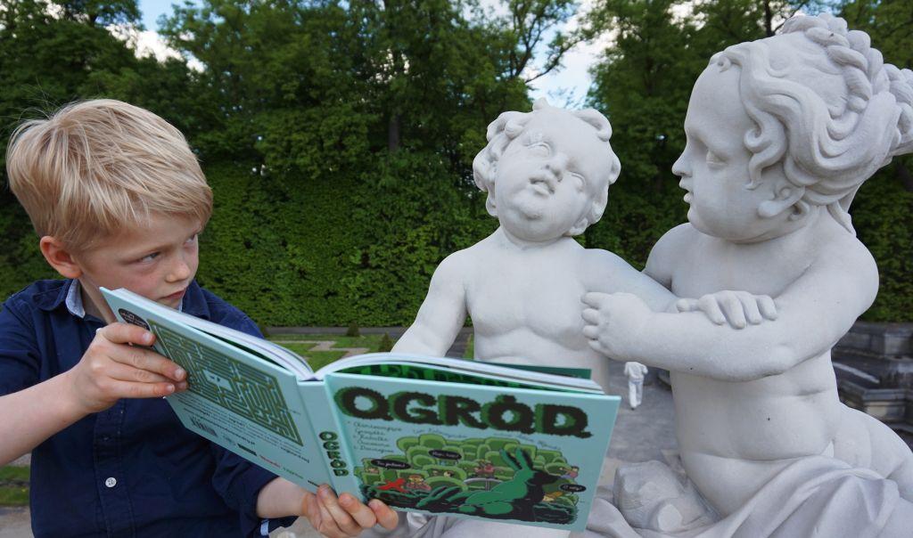 O.G.R.Ó.D. najlepsze książki dla dzieci recenzja książek dla dzieci Dwie Siostry