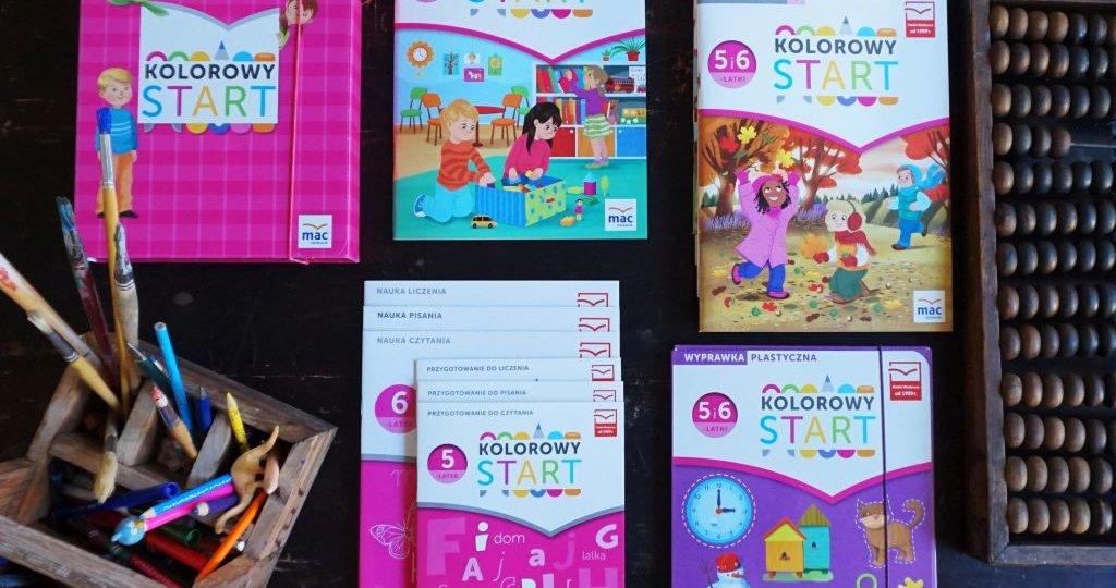 """""""Kolorowy start"""" z MAC Edukacja 5 i 6 lat"""