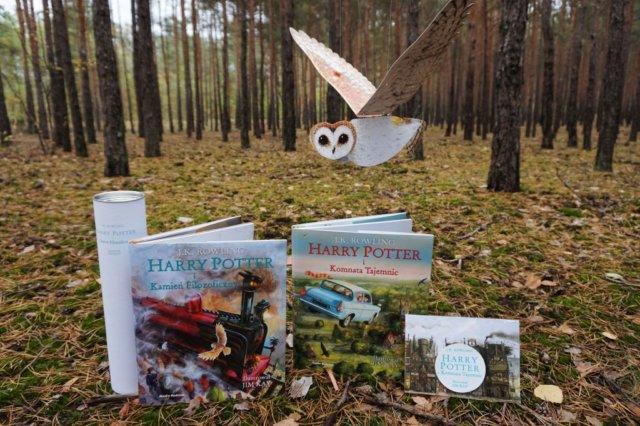 ilustrowany Harry Potter