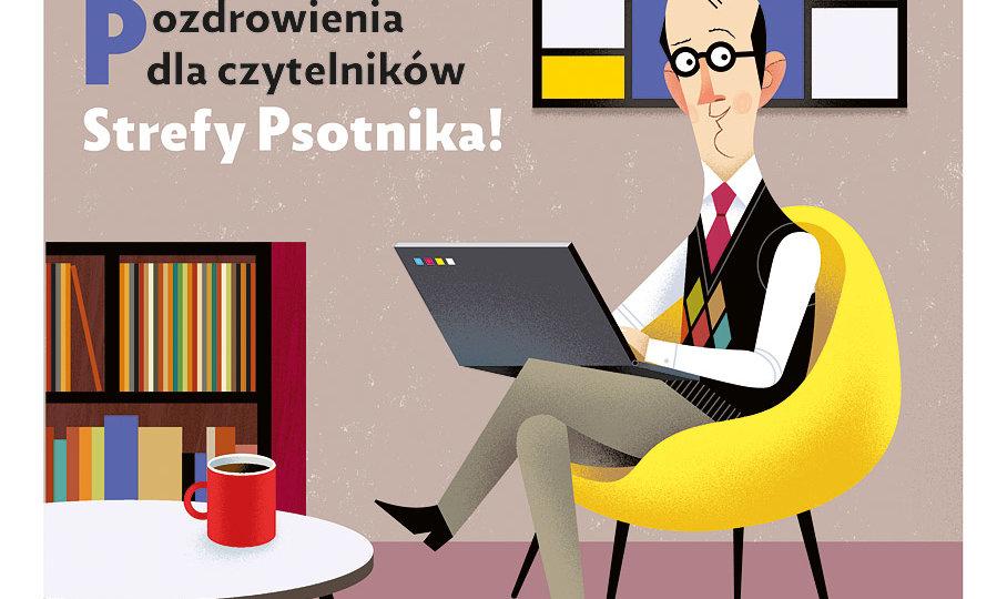 """""""Praktyczny pan"""" ilustracja Adama Pękalskiego"""