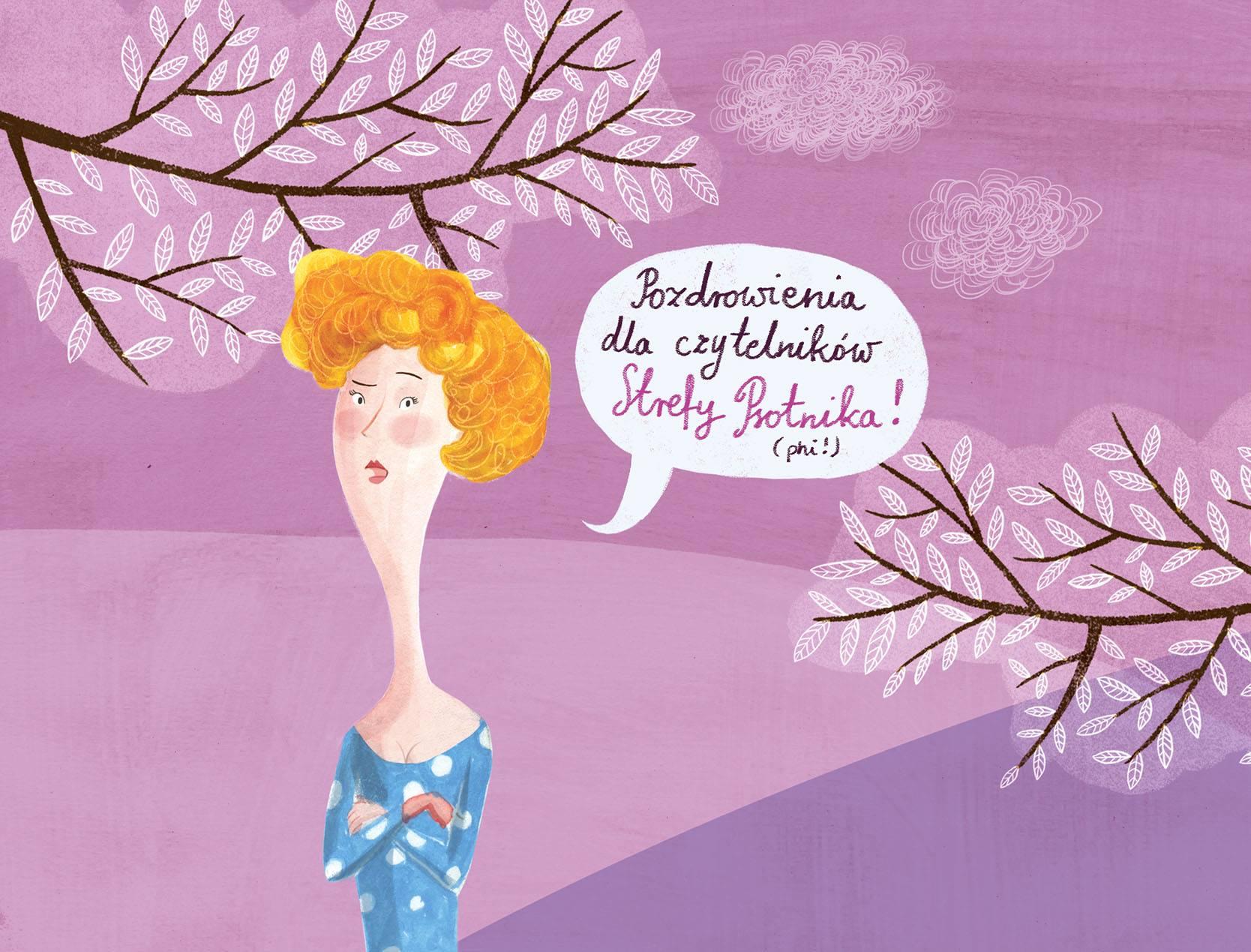 """""""Mania czy Ania"""" ilustracja Joanny Rusinek"""