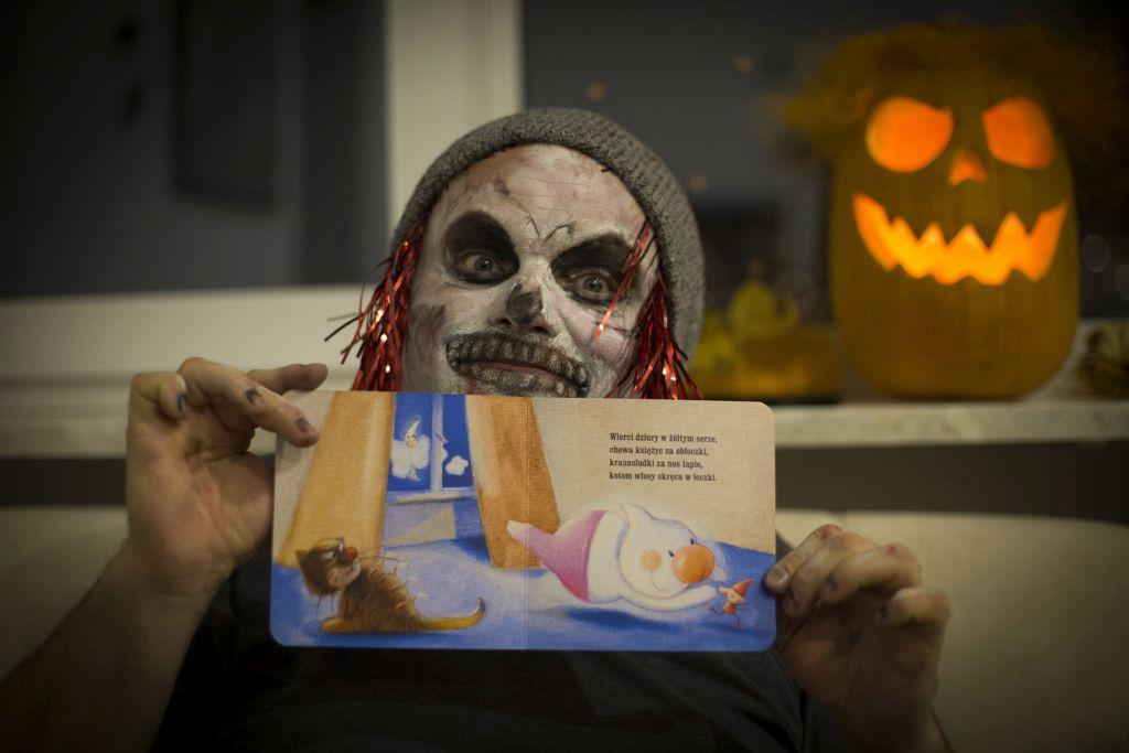 książki dla dzieci o duchach halloween