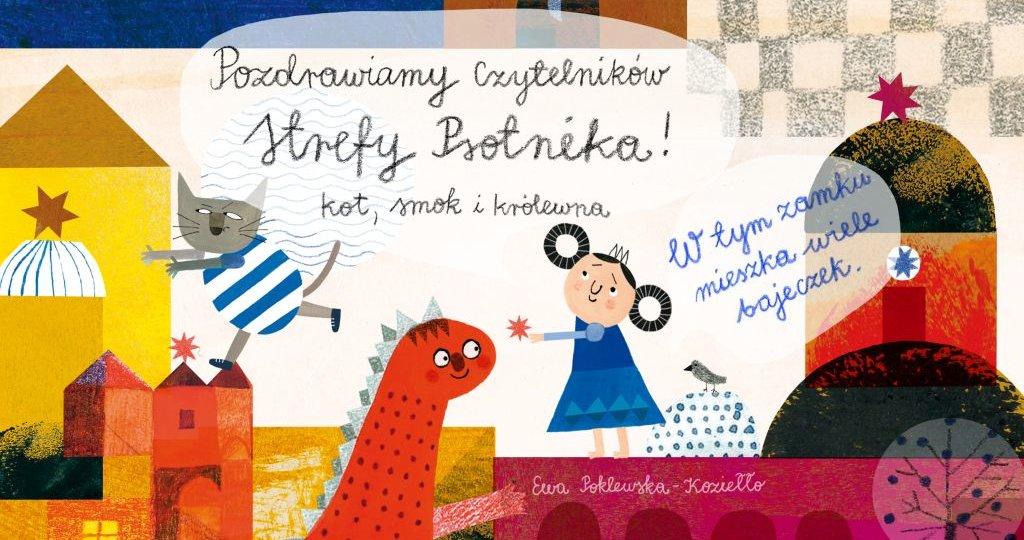 ilustracja dla dzieci Ewy Poklewskiej-Koziełło