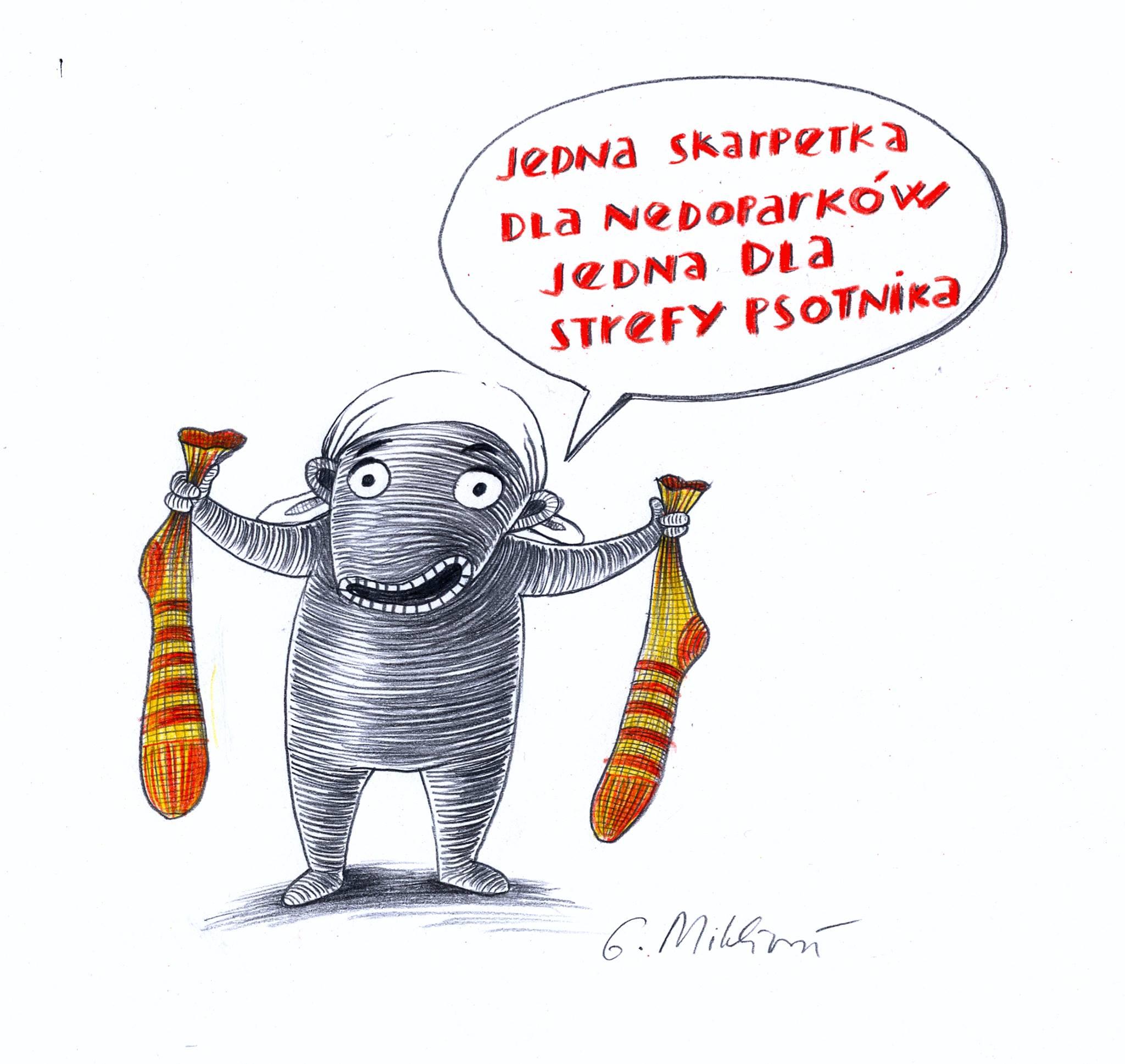 """""""Niedoparki"""" i ilustratorka Galina Miklínová"""