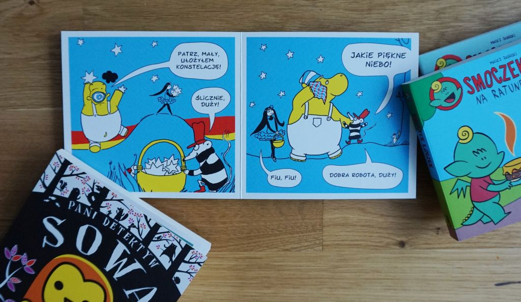 seria komiksów dla maluszków