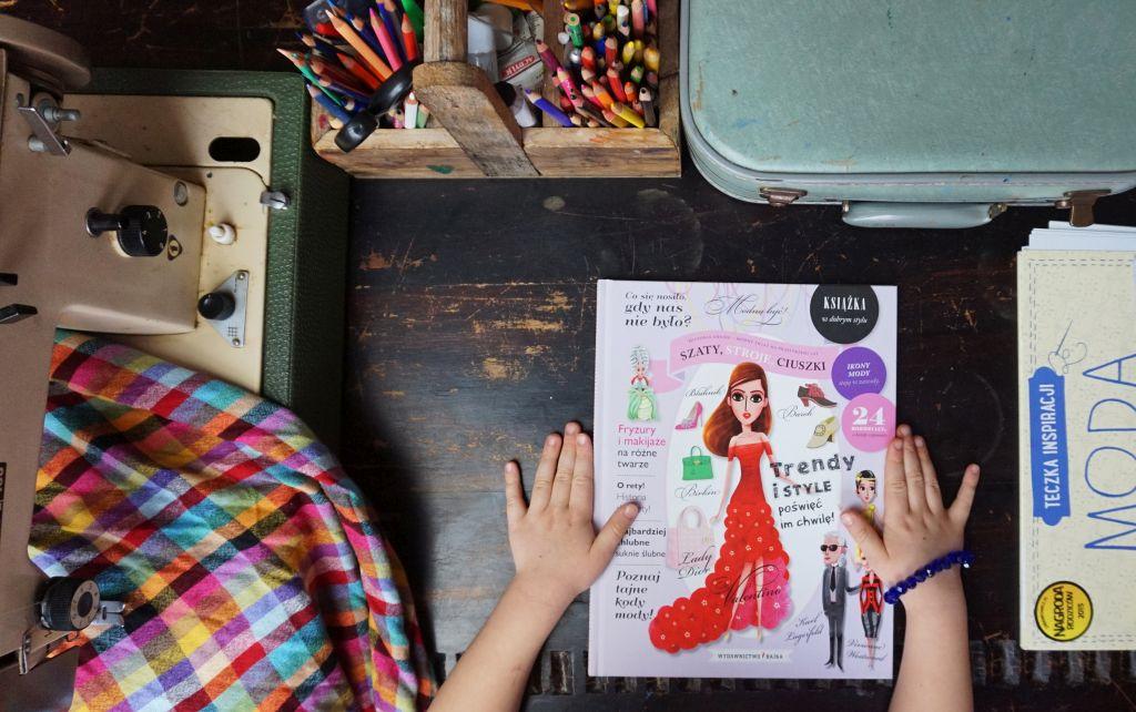 najlepsze książki dla dzieci o modzie