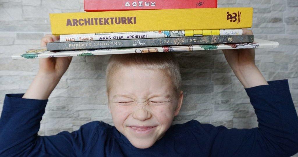 Książki dla dzieci o architekturze recenzje, blog o książkach dla dzieci