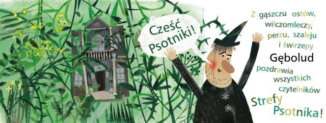 """""""Gębolud"""" ilustracja Agnieszki Żelewskiej"""