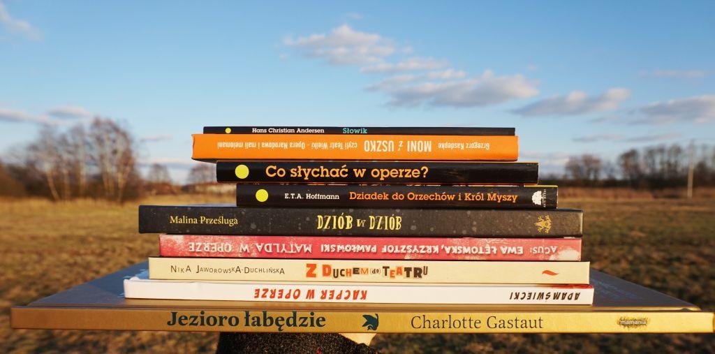 książki dla dzieci o teatrze i operze, blog o książkach dla dzieci