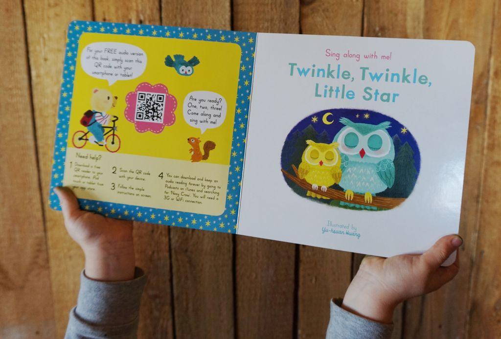 muzyczne angielskie książki dla dzieci