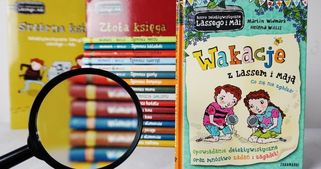 Wakacje z Lassem i Mają, blog o książkach dla dzieci