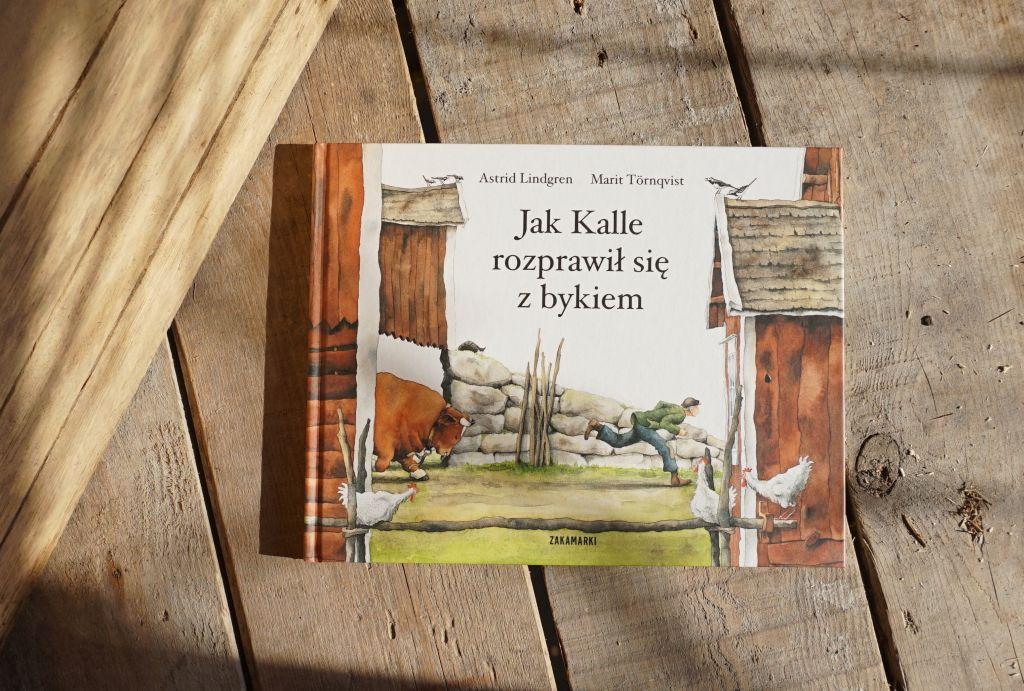 Jak Kalle rozprawił się z bykiem, blog o książkach dla dzieci