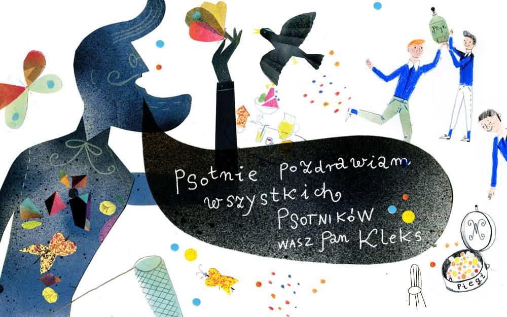 Ilustracja do książki dla dzieci Jan Brzechwa
