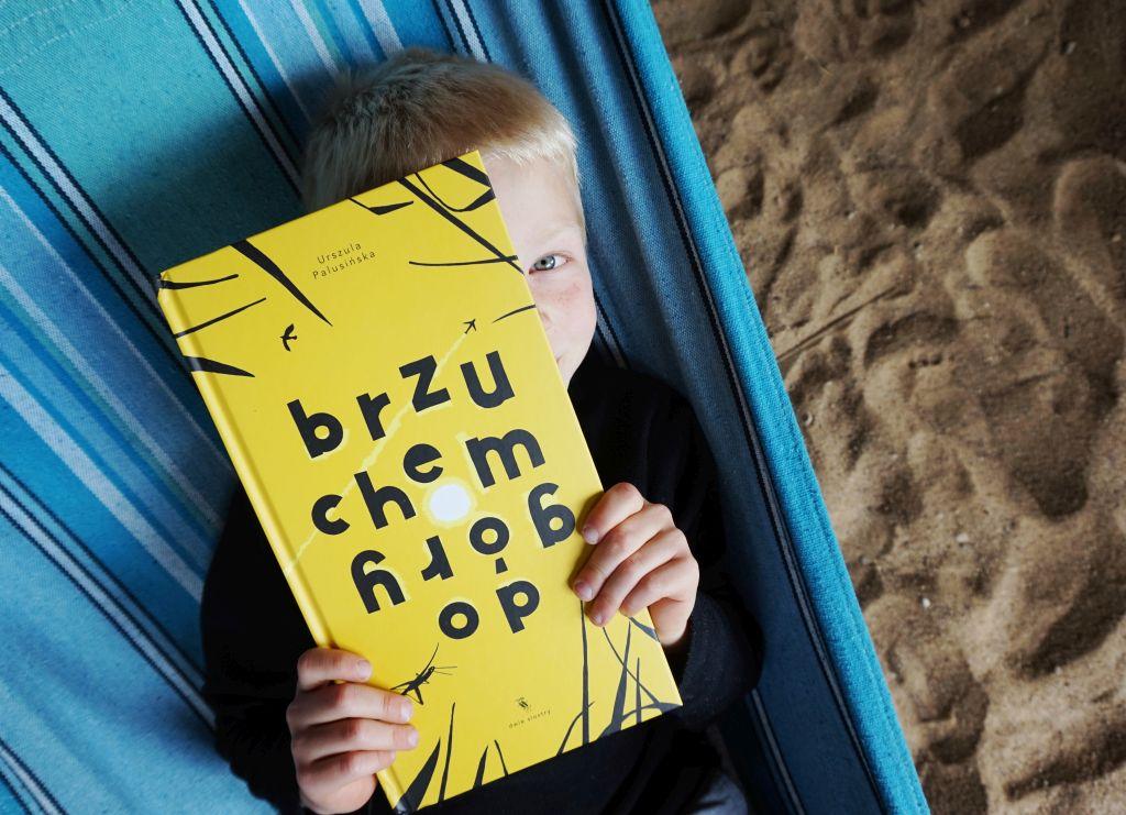 """""""Brzuchem do góry"""" Urszula Palusińska, blog o książkach dla dzieci"""