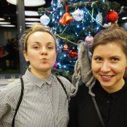 Agata Dudek i Małgorzata Nowak