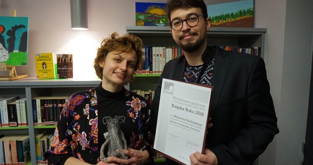 Julia Odnous i Wojciech Pawliński