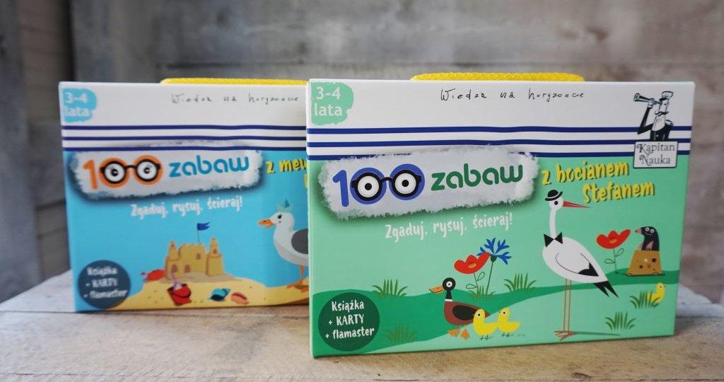 Rozwijające zabawy dla dzieci 3-4 lata - Kapitan Nauka