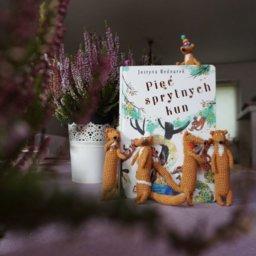 Szydełkowe postaci z książek BUDKA, blog o książkach dla dzieci