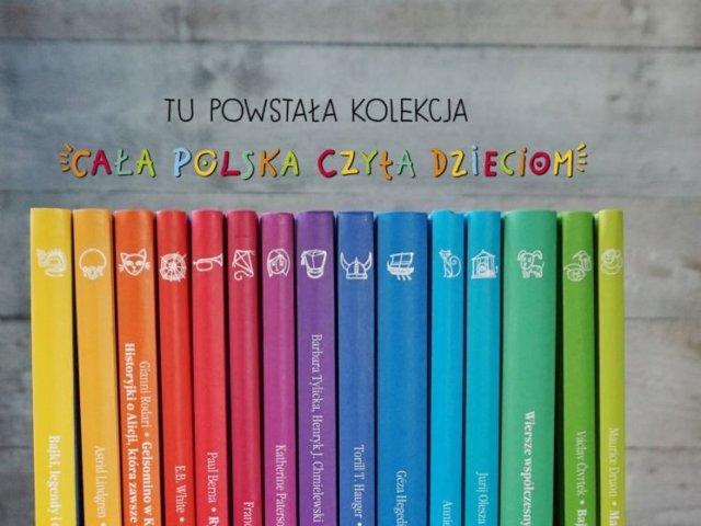 Kolekcja Cała Polska Czyta Dzieciom 2017