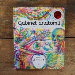 Gabinet anatomii - książka z soczewkami