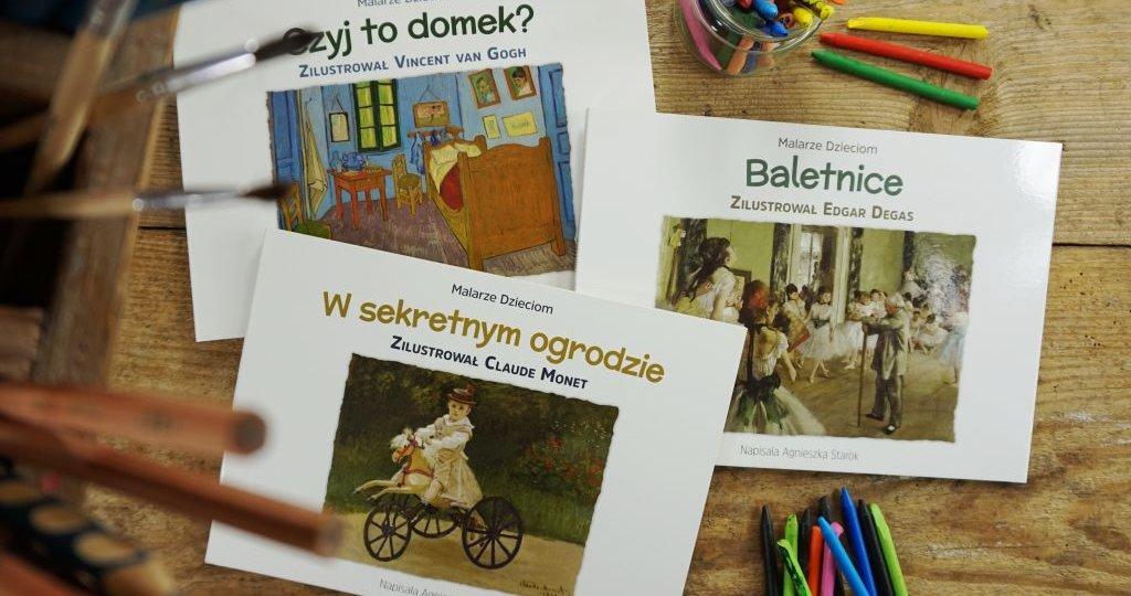 Wielcy impresjoniści w książkach dla dzieci - Malarze Dzieciom