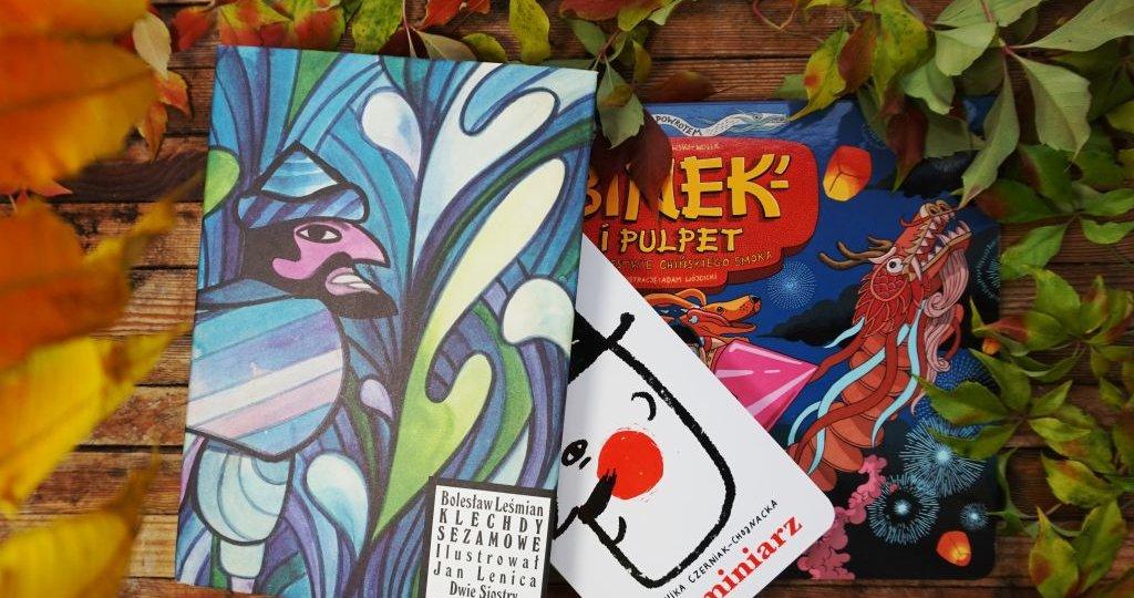 Październikowe nowości wydawnictwa Dwie Siostry, blog o książkach dla dzieci