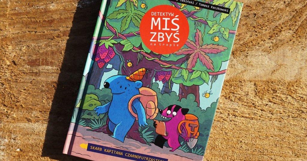 Detektyw Miś Zbyś - seria komiksów dla dzieci 6+