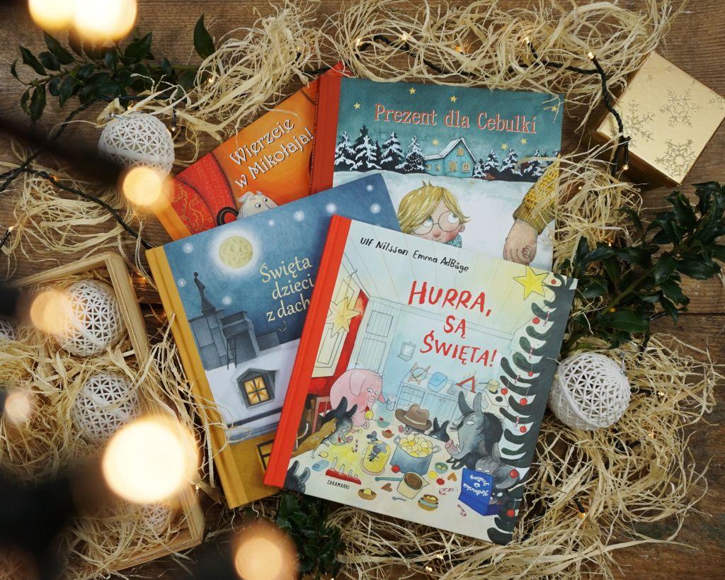Najpiękniejsze adwentowe książki dla dzieci ZAKAMARKI