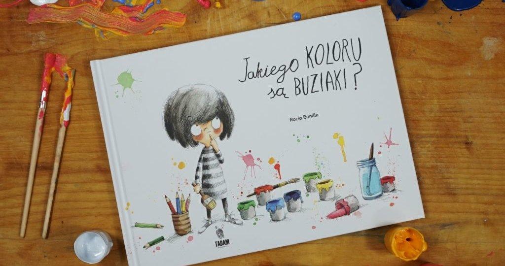 Jakiego koloru są buziaki? - książka o uczuciach