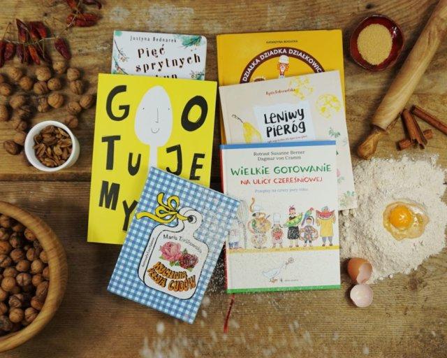Najlepsze książki kucharskie dla dzieci