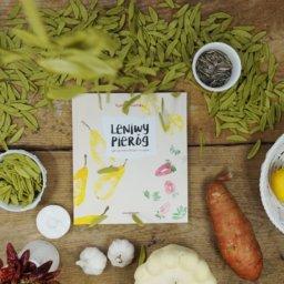 Leniwy pieróg - książka kucharska wege dla dzieci