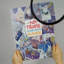 Polsko-angielski kartonowy słownik dla dzieci