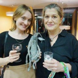 Magdalena Mrozińska i Nika Jaworowska-Duchlińska