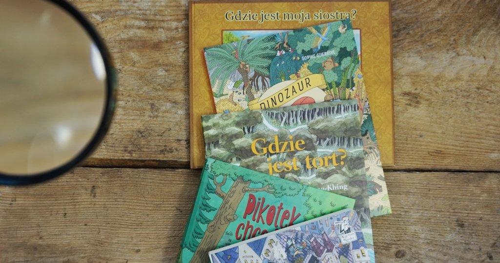 Najlepsze książki WYSZUKIWANKI dla dzieci
