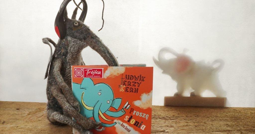 Proszę słonia - Ludwik Jerzy Kern - audiobook