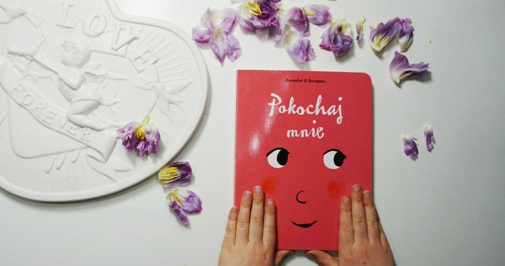 Pokochaj mnie - kartonowa książka do kochania