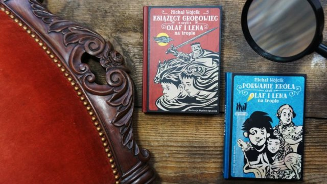 Olaf i Lena na tropie - powieści dla dzieci z historią w tle