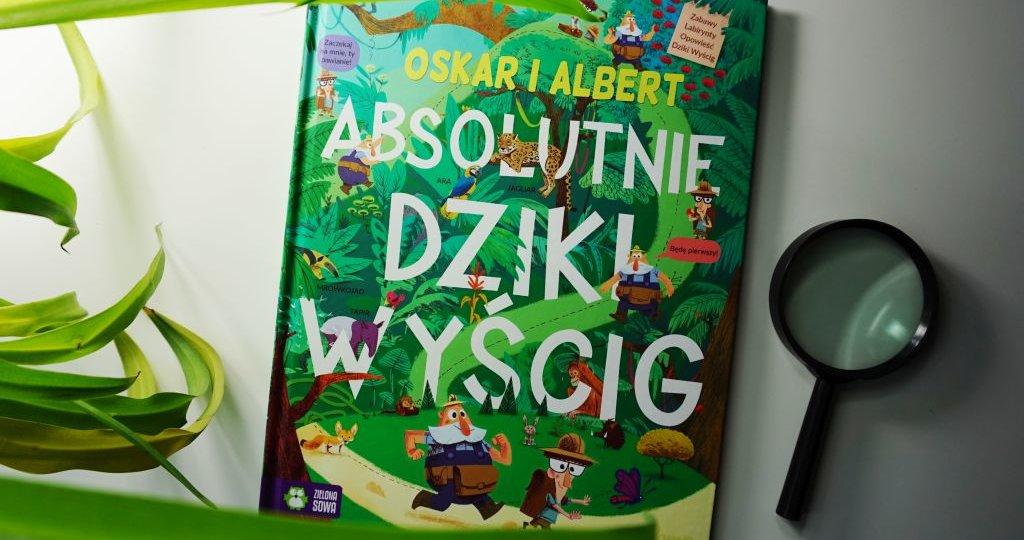 Oskar i Albert. Absolutnie dziki wyścig - książka wyszukiwanka