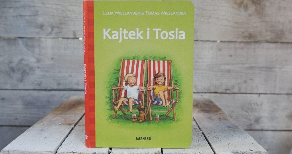 """""""Kajtek i Tosia"""" - wiosenna nowość Wydawnictwa Zakamarki"""