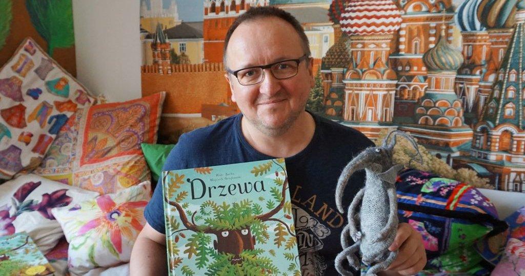 """Piotr Socha o swojej nowej książce """"Drzewa"""" - wywiad Psotnika"""