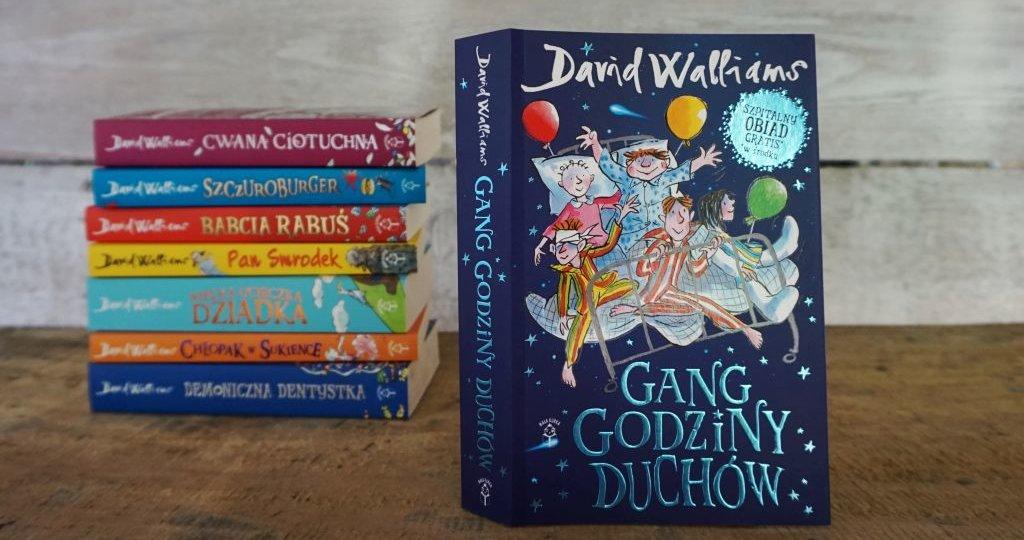 Gang godziny duchów - już jest nowa powieść Davida Walliamsa!